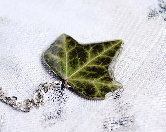 green necklace flower terrarium jewelry green leaf necklace gift/for/her tiny necklace gift/for/sister birthday gift ideas for mom ivy Рю86