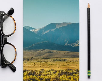 Sierra Mountains Notebook. The Classics Collection. Notebooks, Sketch Notebook, Journal, Writer's Notebook.