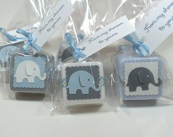 Perfect 24 Elephant Baby Shower Favors, Baby Shower Decor Baby Shower Favors Boy,  Choose Your