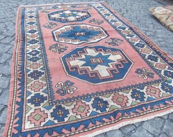 turkish vintage anatolian rug oushak rug vintage rug for home kilim rug Oushak moroccan rug E12