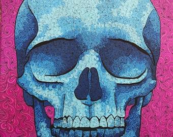 """Skull Print 22"""" x 28"""""""