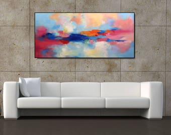 XL Abstract Painting Original Painting/ Abstract Art/ Acrylic Painting/ Extra Large Painting On Canvas/ Modern Abstract Extra Large Wall Art