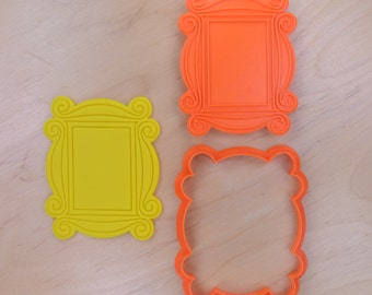 Friends - Monica's Peephole Door Frame Cookie Cutter and Stamp Set
