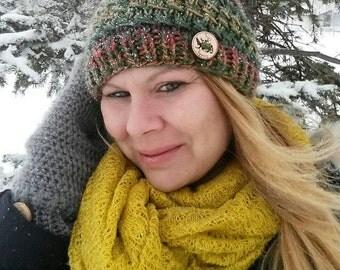 Ladies knit toque, knit hat, knit toque, ladies toque, knit beanie, girls beanie, handmade hat, beanie, toque, ladies accessorie, hat, teen