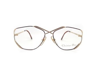 Genuine 1980s Christian Dior2684 41 Vintage Glasses // Made in Austria // New Old Stock
