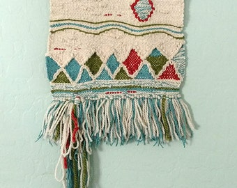 Woven wall hanging - Textile wall hanging - Gift for You - Boho Decor - Gift for Her - Wall Art