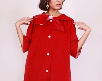 Red Velveteen Rabbit Coat