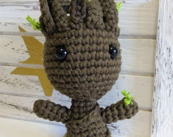 Baby Groot Marvel amigurumi (guardians of the Galaxy).