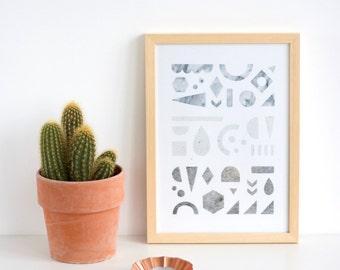 Graphic print no. 2