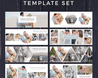 Facebook Template, Photography Marketing, Facebook Timeline Cover Template, Facebook Cover Photo, Facebook Banner, Photoshop Template,PSD