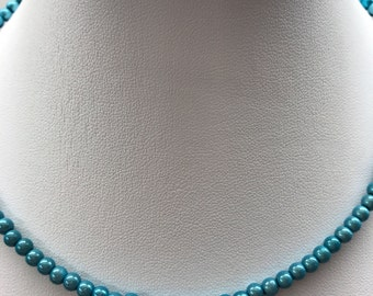 Acqua Mini Glowwbead Choker