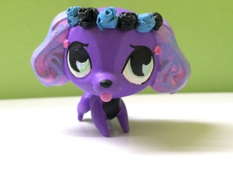 LPS Custom: Cotton Candy Puppy