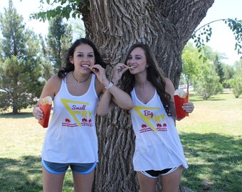 Big Fry/ Small Fry Reveal, Big Little Reveal, Sorority Big Little, In & Out Burger