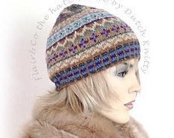 Flair&Co the hat©  by Dutch Knitty breipatroon fair isle muts