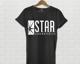 Star Labs T-shirt Unisex The Flash TV shows Science Superhero DC comics