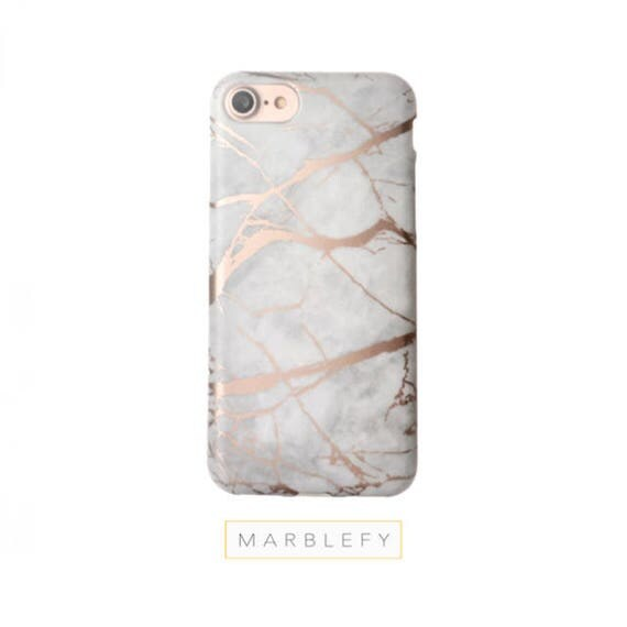 Rose Marble Phone Case Gold Reflectiveiphone 6