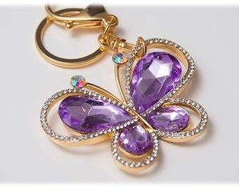 Elegant Crystal Butterfly