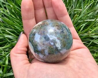 Extraordinary Jasper Stone Sphere
