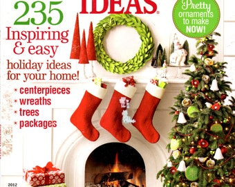 Christmas Ideas 2012 Better Homes and Gardens Magazine 235 Inspiring and Easy Holiday Ideas
