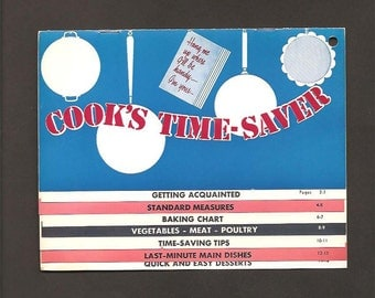 Cook's Time-Saver - Morning Evaporated Milk - Vintage Recipes and Advertising Booklet c. 1940s – Morning Milk Company - Salt Lake City, Utah