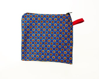 Reusable Sandwich Bag - Zipper Snack Baggie - Zero Waste Free Lunch Box Food Storage - Mens Eco Friendly Washable Ration Holder Pouch EVA