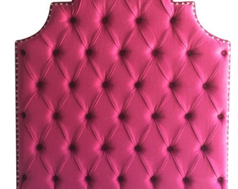 Twin Size Upholstered Headboard Tufted Headboard Pink Bed Headboard for Girls Twin headboard Upholstered Girl Bedroom Furniture