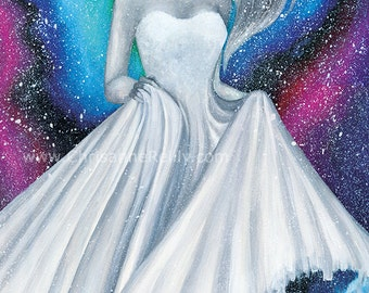 ART PRINT - Danse des etoiles - Worldwide Shipping
