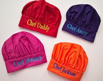 Chef Hat Personalized Chef Hat Adult or Child