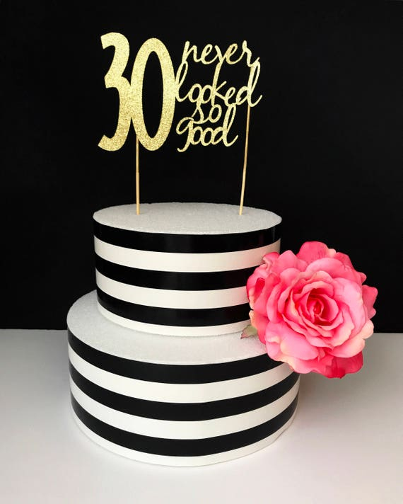 Great 30th birthday cakes