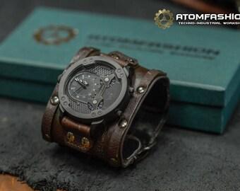 Mechanizer man techno-industrial watch