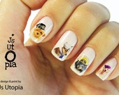 Dogs in Uniform Nail Decal