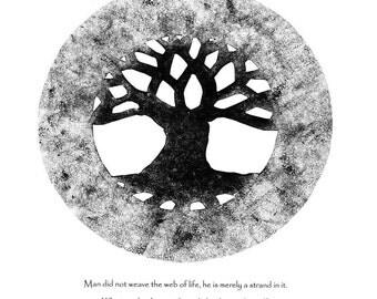 Tree of Life Graphic Sticker