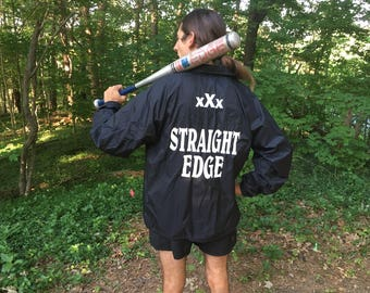 XXX Straight Edge water resistant jacket
