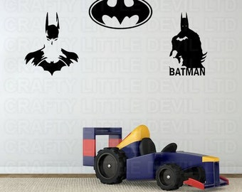 Batman Wall Decal Etsy - Wall decals in pakistan