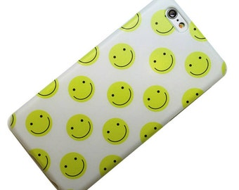 Happy Face, Smile, Walmart, Phone Case iPhone 6, iPhone 7, iPhone 5, iPhone SE, iPhone 6 plus, iphone 7 plus, galaxy s7, note 5