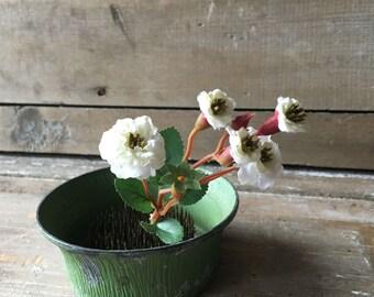 Vintage Heavy Flower Frog