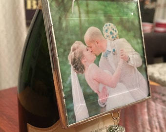 Soldered Wedding Photo Ornament