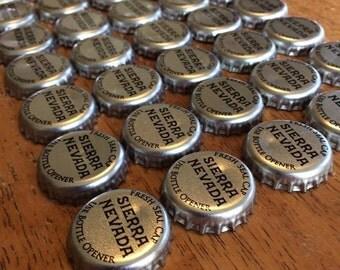 50 Silver Sierra Nevada Bottle Caps