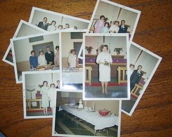 Wedding Photos  Found Photographys 1960's Pictures Mid-Century  Photographs
