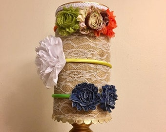 BOGO FREE! Flower Headband - Toddler/Child/Adult