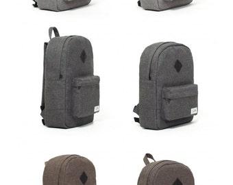 Fabric Backpack, Laptop Backpack, Mini Backpack, Backpack Women, Canvas Backpack, School Backpack, Vegan Backpack, Mens Backpack, Rucksack