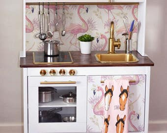 Decals For DUKTIG, Ikea, Flamingo Sticker Set, PACK OF 4, Peel And