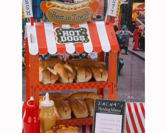 Street Stall Hot Dog/Popcorn Stand