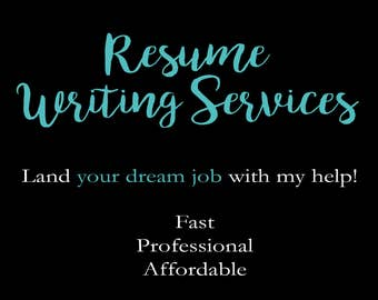 customized affordable resume writing service 48 hour turnaround