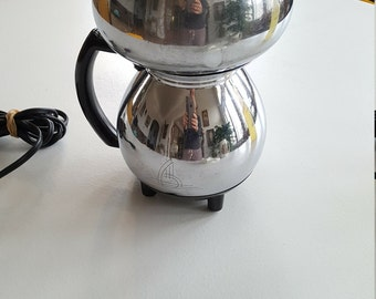 Sunbeam Vacuum 50's/ 60's Electric Coffee Pot - WORKS