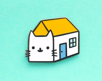 House Cat Hard Enamel Pin