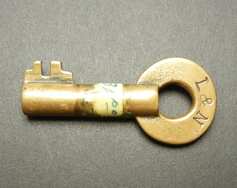 L&N Switch Key - Louisville and Nashville Railroad