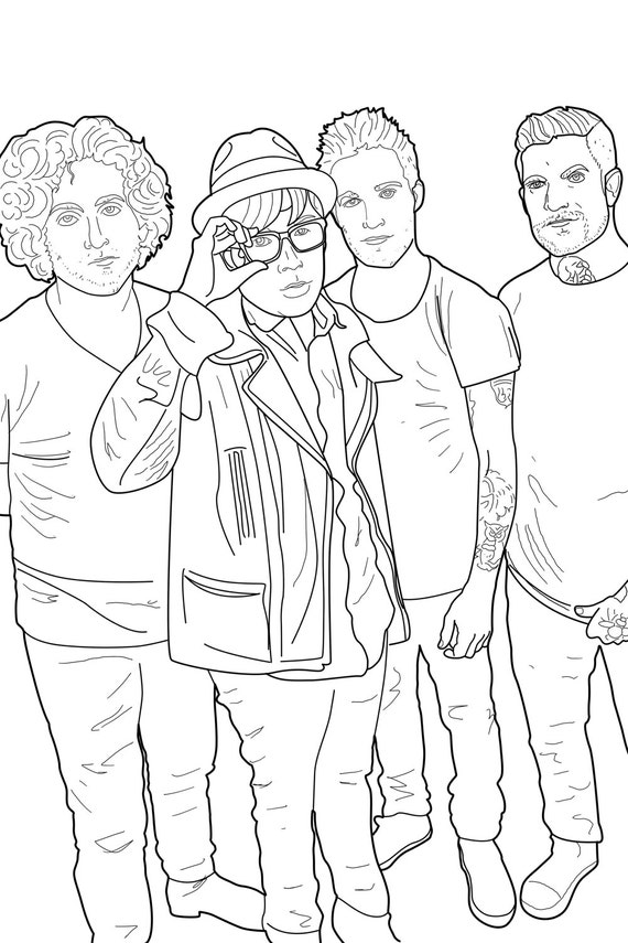 There S A New Pop Punk Coloring Book And You Re Gonna Want Five