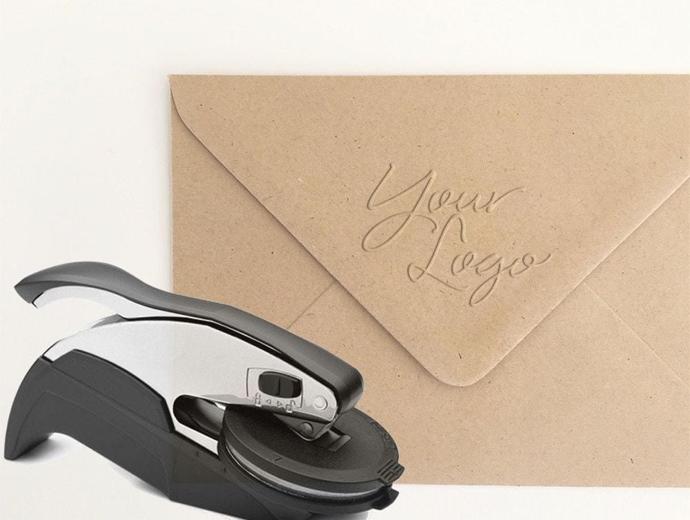 Custom logo paper embosser
