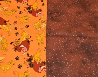 The Lion King Baby Blanket - cotton